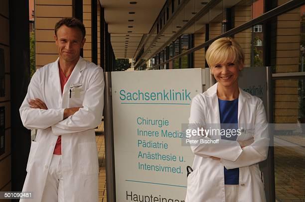 """Andrea Kathrin Loewig , Bernhard Bettermann , ARD-Serie """"In Aller Freundschaft"""" vom MDR, Special """"Was wirklich zählt"""", """"Media City"""", Leipzig,..."""