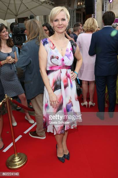 Andrea Kathrin Loewig during the Bavaria Film reception during the Munich Film Festival 2017 at Kuenstlerhaus am Lenbachplatz on June 27 2017 in...