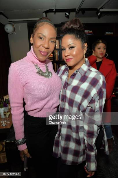 Andrea Kelly and Angela Yee attend Lifetime / NeueHouse Luminaries series 'Surviving R Kelly' documentary screening and conversation at Neuehouse NY...