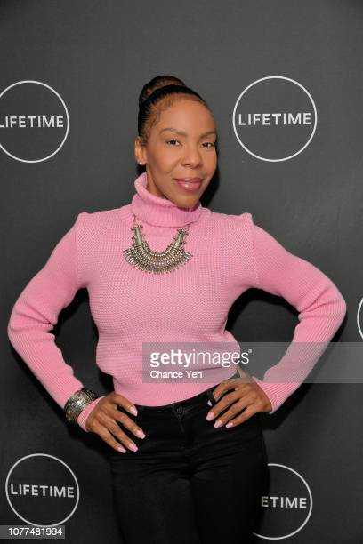 Andrea Kelly attends Lifetime / NeueHouse Luminaries series 'Surviving R Kelly' documentary screening and conversation at Neuehouse NY on December 04...