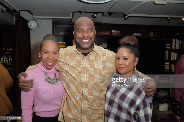 Andrea Kelly Gem Bratts and Angela Yee attend Lifetime / NeueHouse Luminaries series 'Surviving R Kelly' documentary screening and conversation at...