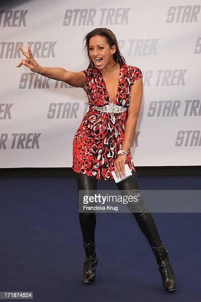 "Andrea Kempter at the Premiere Of ""Star Trek"" in Cinestar Sony Center in Berlin"