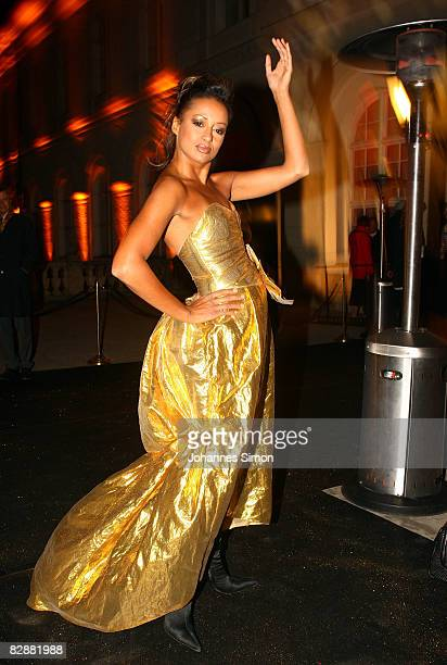 Andrea Kempter attends the 'Fabulous Celebration' at Nymphenburg Castle on September 18 2008 in Munich Germany French champagne producer Moet Chandon...