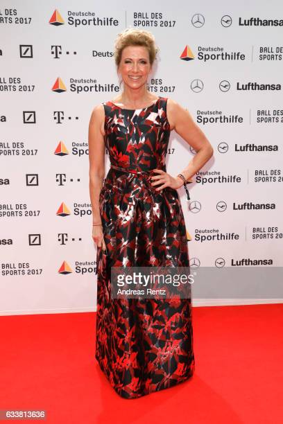 Andrea Kiewel attend the German Sports Gala 'Ball des Sports 2017' on February 4 2017 in Wiesbaden Germany