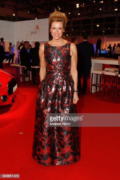 Andrea Kiewel attends the German Sports Gala 'Ball des Sports 2017' on February 4 2017 in Wiesbaden Germany