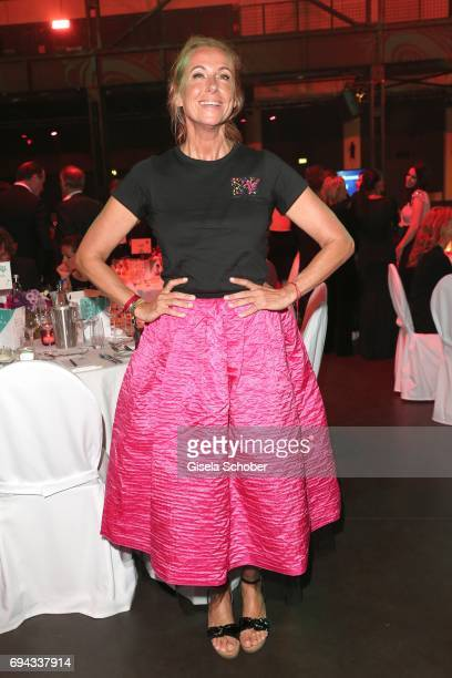 Andrea Kiewel during the Toni Kroos charity gala benefit to the Toni Kroos Foundation at 'The Palladium' on June 9 2017 in Cologne Germany