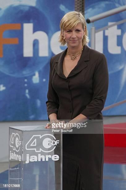 Andrea Kiewel ZDFFernsehgarten Mainz Große ZDFParty Na so was 40 Jahre ZDF Geburtstagsshow Jubiläum TVModeratorin