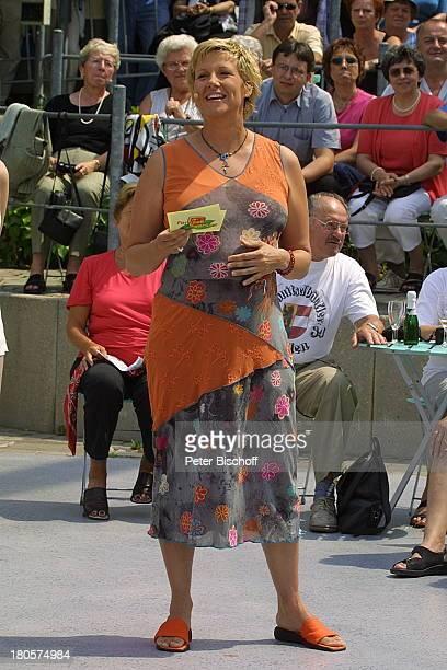 Andrea Kiewel ZDFFernsehgarten schwanger Schwangerschaft