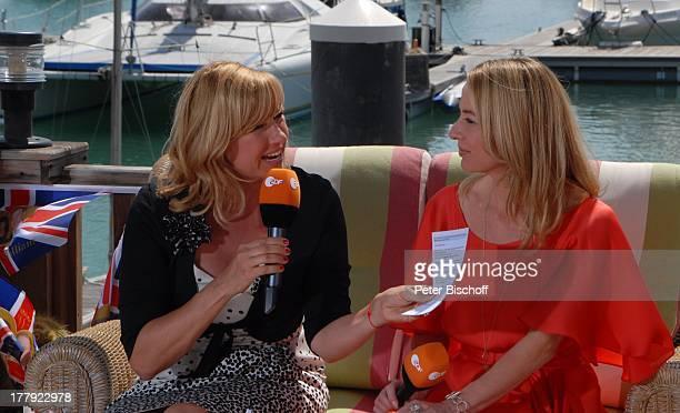 Andrea Kiwi Kiewel Patricia Schäfer beim RoyalTalk über die Hochzeit von Prinz William von England und Verlobte Kate Middleton am ZDFShow Die...