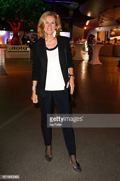 Andrea L Arronge attends the Felix Burda Award 2016 on April 17 2016 in Munich Germany