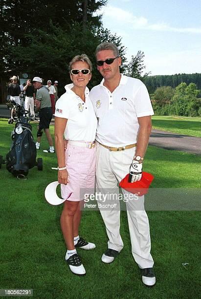 Andrea L` Arronge Ehemann CharlyReichenwallner SAT1 KönigsturnierGolfen in Gedenken an Günter StrackStarnberg Golf und Landclub GutRieden