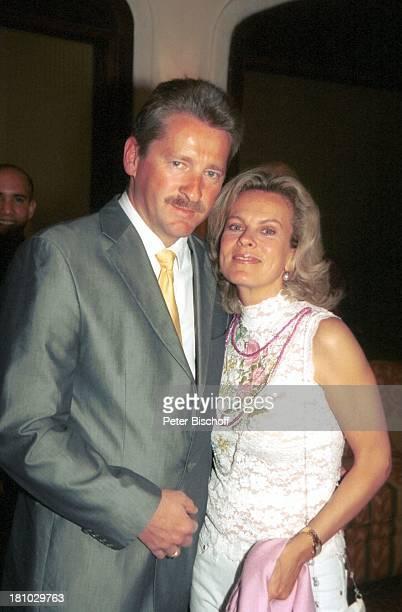 Andrea L' Arronge Ehemann KarlHeinz Reichenwallner Eagles GolfTurnier GolfGala Estepona bei Marbella/Costa del Sol/Spanien Kempinski Resort Hotel...