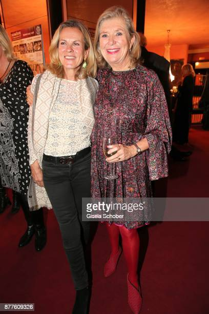 Andrea L'Arronge and Jutta Speidel during the 'Josef und Maria' premiere at 'Komoedie' theatre on November 22 2017 in Munich Germany