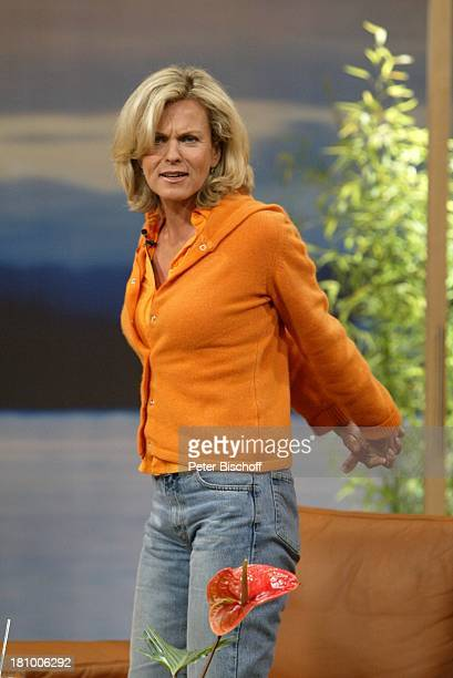 Andrea L'Arronge ARDShow Wellness TV Köln Gymnastik Sport Promis Prominenter Prominente