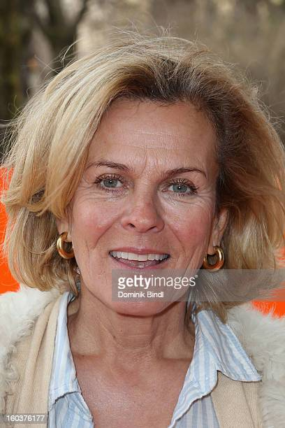 Andrea L´Arronge attends the 35 years anniversary of the tv show 'Soko 5113' on January 30 2013 in Munich Germany