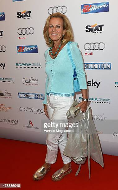 Andrea L'Arronge attends the Audi Director's Cut at the Praterinsel during the Munich Film Festival at Praterinsel on June 27 2015 in Munich Germany