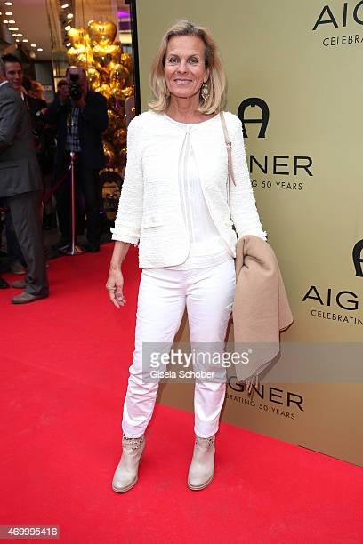 Andrea L'Arronge during the 50th Anniversary of AIGNER on April 16 2015 in Munich Germany