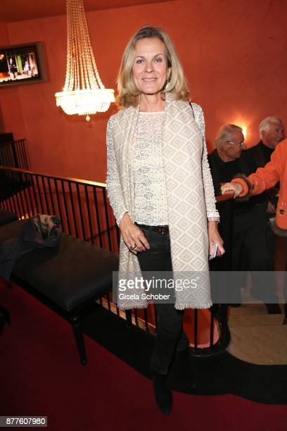 Andrea L'Arronge during the 'Josef und Maria' premiere at 'Komoedie' theatre on November 22 2017 in Munich Germany