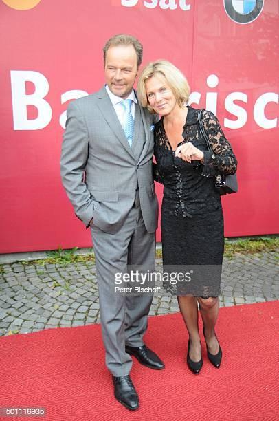 Andrea L'Arronge Till Demtröder 21 Bayerischer Fernsehpreis 2009 Preis 'Der Blaue Panther' Prinzregententheater München Bayern Deutschland Europa...