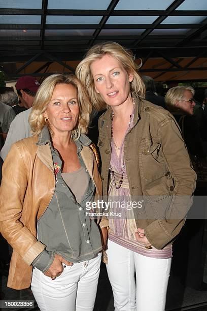 Andrea L'Arronge Und Maria Furtwängler Beim Filmfest München Im Cafe Atlas In München