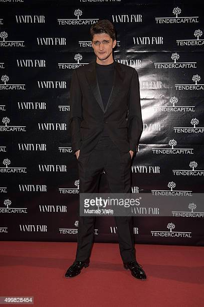 Andrea Lattanzi attends the showing of 'Un'altra Storia' at Teatro Vetra on December 3 2015 in Milan Italy