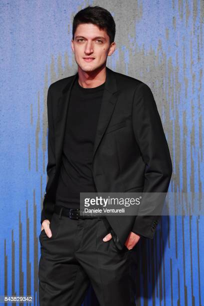 Andrea Lattanzi walks the red carpet ahead of the 'Manuel' screening during the 74th Venice Film Festival at Sala Giardino on September 7 2017 in...