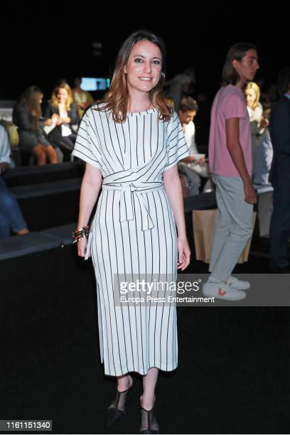 Andrea Levy attends Devota Lomba fashion show during the Mercedes Benz Fashion Week Spring/Summer 2020 on July 09 2019 in Madrid Spain