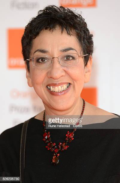 Andrea Levy attends Orange Prize For Fiction at Royal Festival Hall