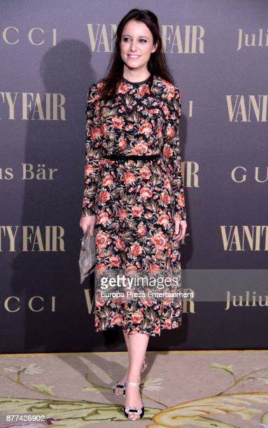 Andrea Levy attends the gala 'Vanity Fair Personality of the Year' to Garbine Muguruza at Ritz Hotel on November 21 2017 in Madrid Spain
