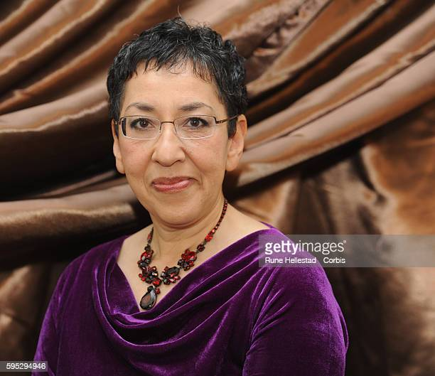 Andrea Levy attends the Galaxy British Book Awards at Mandarin Oriental
