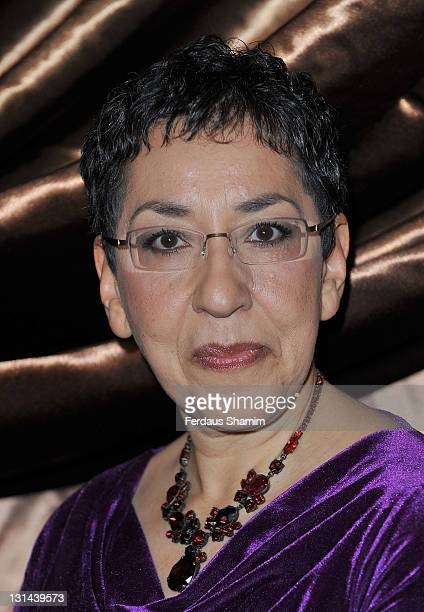 Andrea Levy attends the Galaxy National Book Awards 2011 at Mandarin Oriental Hyde Park on November 4 2011 in London England