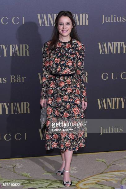 Andrea Levy Soler attends the Vanity Fair Personality of the Year party at the Ritz Hotel on November 21 2017 in Madrid Spain
