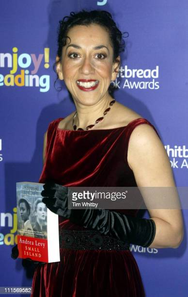 Andrea Levy winner of the 2004 Whitbread Book of the Year Award for Small Island