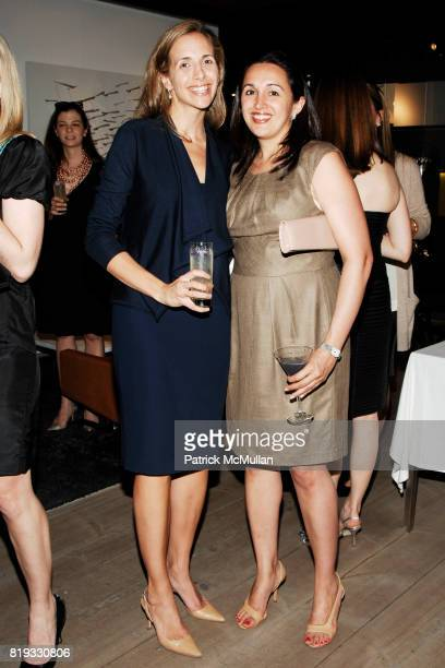 Andrea Lisher and Mariam Korangy attend GEORG JENSEN Platinum Jewels in Bloom Cocktail Reception at Georg Jensen on April 8 2010 in New York City