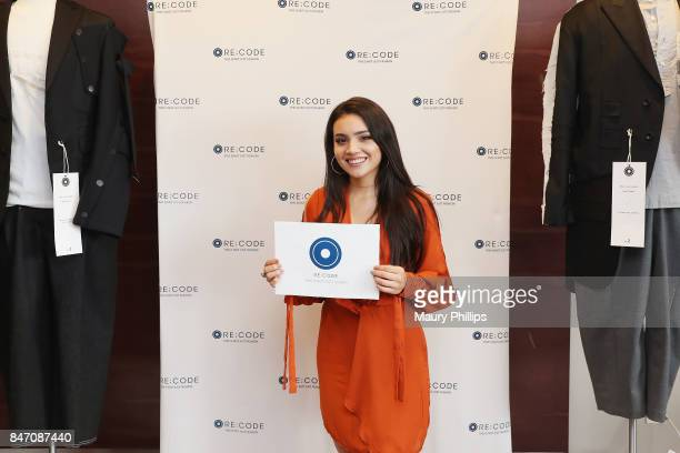 Andrea Londo attends Kari Feinstein's Style Lounge presented by Ocean Spray at the Andaz Hotel on September 14 2017 in Los Angeles California