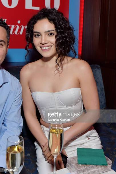 Andrea Londo attends Marie Claire Celebrates Fifth Annual 'Fresh Faces' in Hollywood with SheaMoisture Simon G and Sam Edelman at Poppy on April 27...