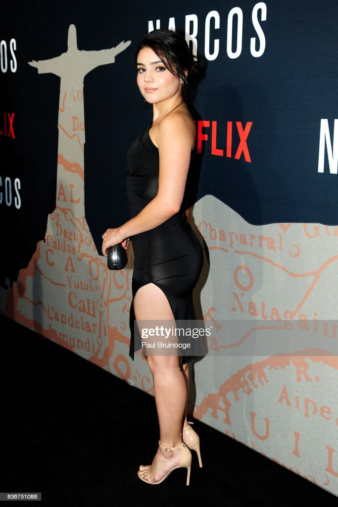 Andrea Londo attends 'Narcos' Season 3 New York Screening - Arrivals at AMC Lincoln Square 13 Theater on August 21, 2017 in New York City.