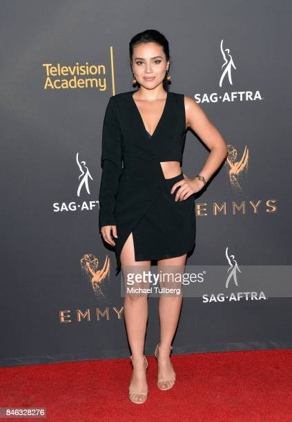 Andrea Londo attends the Television Academy and SAGAFTRA's 5th annual Dynamic and Diverse Celebration at Saban Media Center on September 12 2017 in...