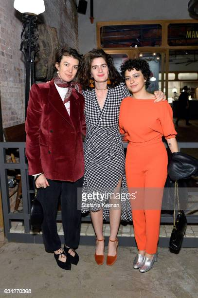 Andrea LongacreWhite Gaby Hoffmann and Alia Shawkat attend Rachel Comey Fall Winter 2017 Collection Presentation on February 7 2017 in Los Angeles...