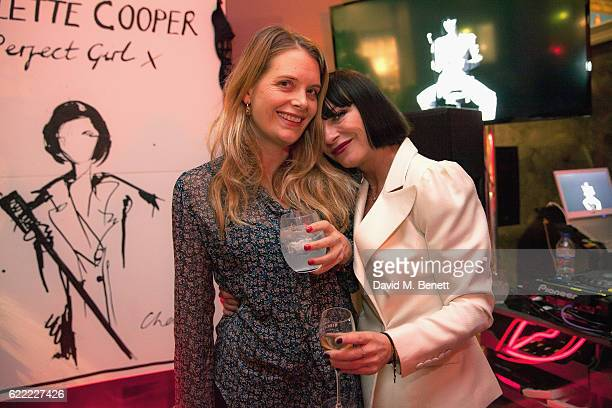 Andrea Lowe and Collette Cooper attend the launch of Collette Cooper's new single 'Perfect Girl' and the 'Collette' suit collaboration with Gresham...