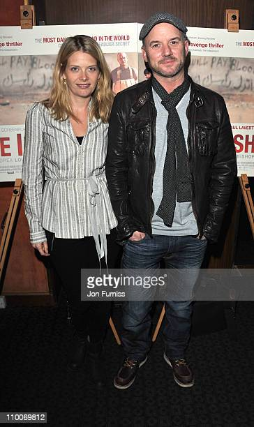 Andrea Lowe and Mark Womack attend the Route Irish Screening at the The Curzon Mayfair on March 14 2011 in London England