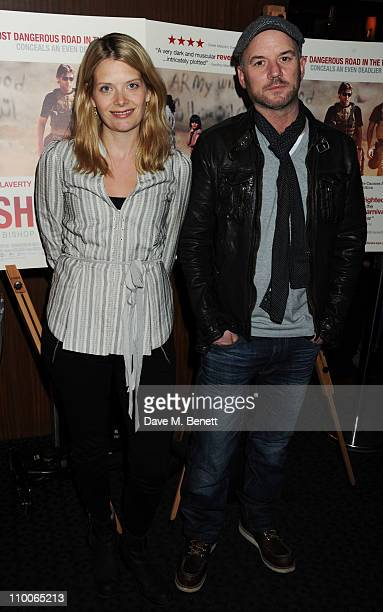 Andrea Lowe and Mark Womack attend the screening of 'Route Irish' at The Curzon Mayfair on March 14 2011 in London England