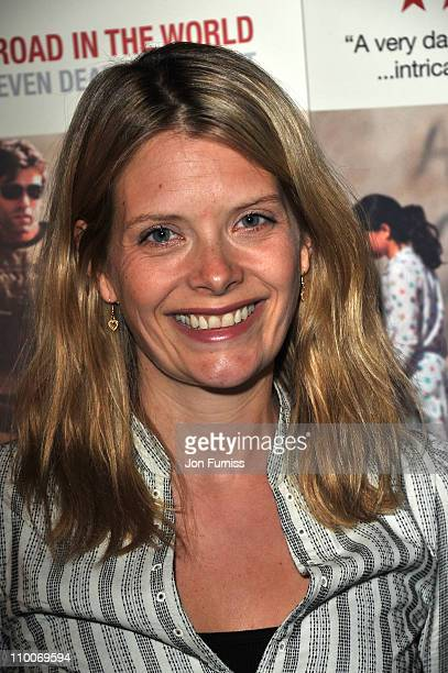 Andrea Lowe attends the Route Irish Screening at the The Curzon Mayfair on March 14 2011 in London England