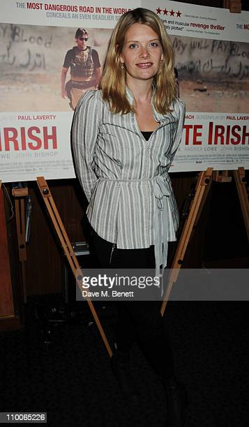 Andrea Lowe attends the screening of 'Route Irish' at The Curzon Mayfair on March 14 2011 in London England