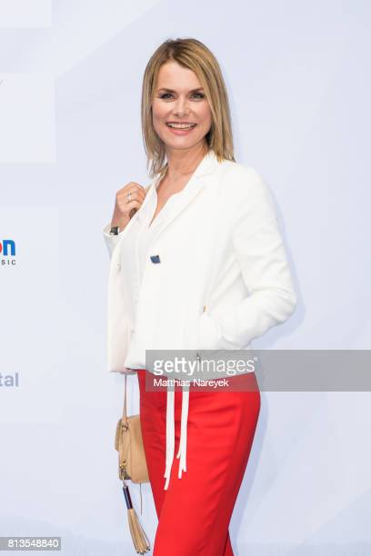 Andrea Luedke attends the Summer Party of the German Producers Alliance on July 12 2017 in Berlin Germany