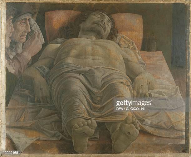 Andrea Mantegna The Lamentation over the Dead Christ Tempera on canvas