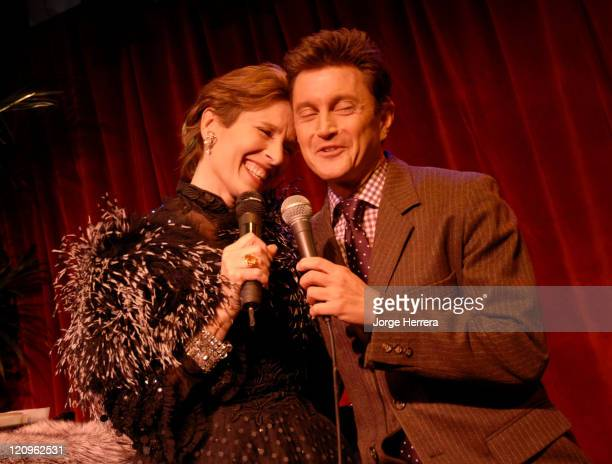 Andrea Marcovicci and Frank Loesser during The American Songbook in London Photocall at Jermyn Street Theatre in London Great Britain