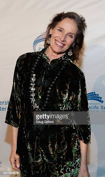 Andrea Marcovicci arrives for the Kenny G performance with the Pacific Symphony 2013 Pops Series at Segerstrom Center For The Arts on February 15...