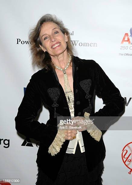 Andrea Marcovicci attends the 25th Annual Power Lunch for Women at The Pierre Hotel on November 18 2011 in New York City