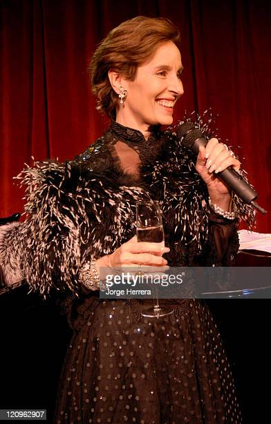 Andrea Marcovicci during The American Songbook in London Photocall at Jermyn Street Theatre in London Great Britain